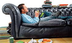Как поднять мужчину с дивана