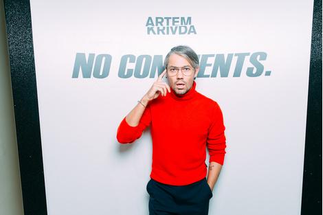 Артем Кривда представил новую коллекцию в «Цветном» | галерея [1] фото [9]