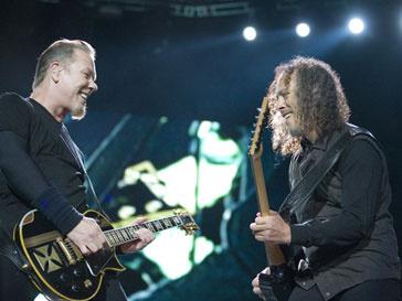 Журнал Kerrang! отметил группу Metallica