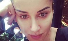 Тина Канделаки выложила свое фото без макияжа