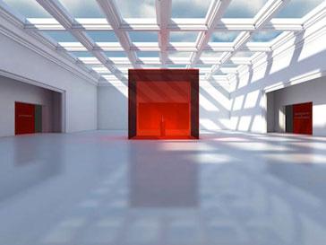 Так бдет выглядеть один из залов музея Valentino
