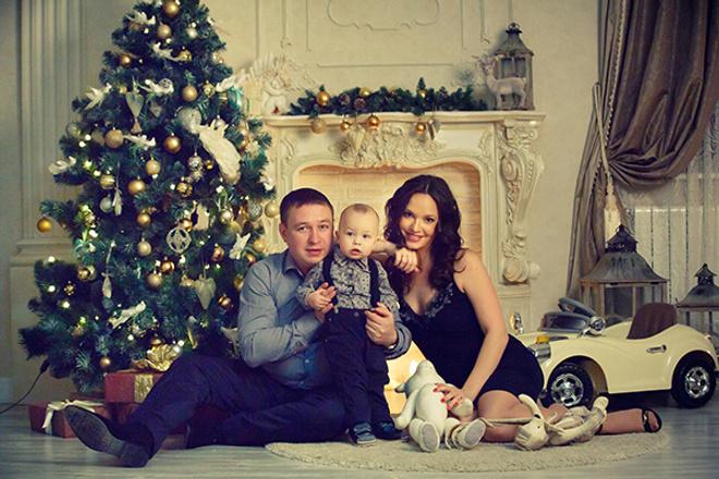 Елена Пашкович с мужем и сыном
