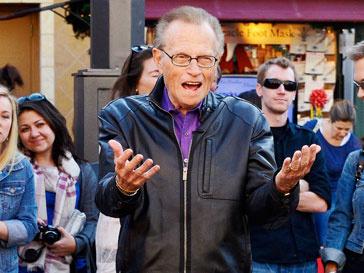 Ларри Кинг (Larry King) признался, что боится смерти из-за неизвестности