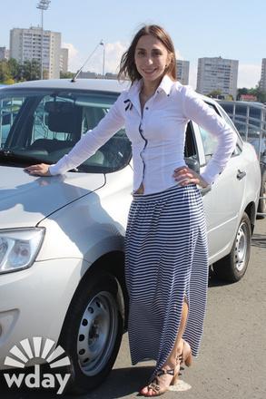 Женщины за рулем, автоледи Казани 2015
