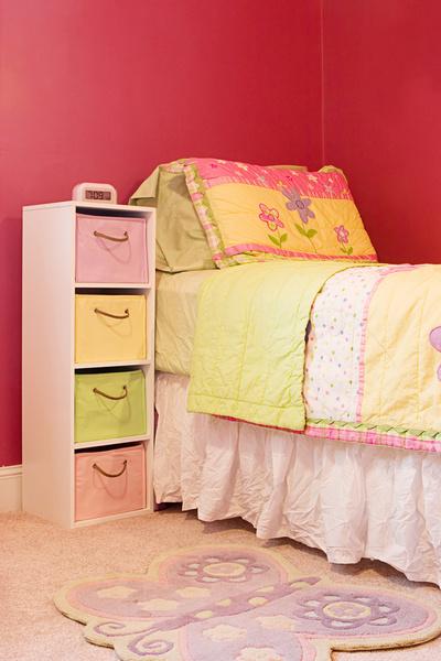В ваших интересах сделать систему хранения понятной и доступной для ребенка