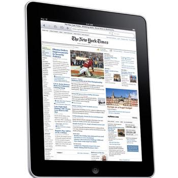 Создатели сделали ставку на приложение для чтения книг, совмещенное с интернет-магазином iBook Store. При чтении электронных книг на экране будет воспроизводиться характерная поверхность печатного аналога.