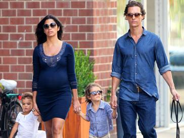 У Мэтью Макконахи (Matthew McConaughey) и Камилы Альвес (Camila Alves) родилась дочь