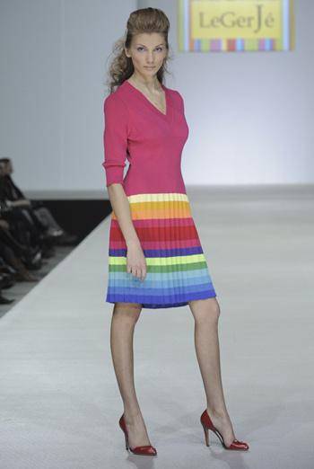 Платье «Радуга».