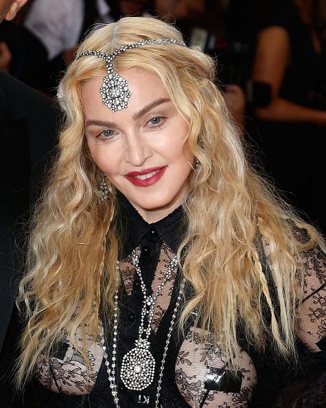 Мадонна на Met Gala обнажила грудь и ягодицы