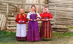 цветных фотографий царской россии