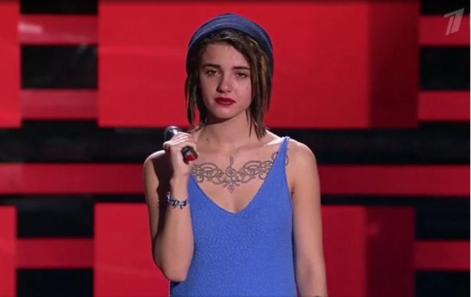 Участница шоу «Голос» Соня Берия