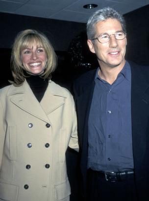 Джулия Робертс с Ричардом Гиром, 1997 год