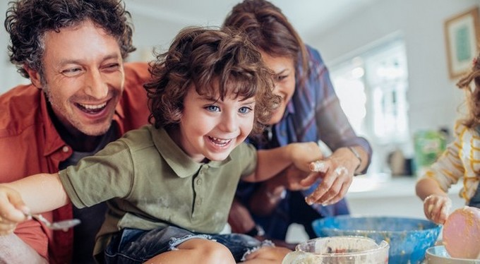Пять способов показать детям, что вы их любите