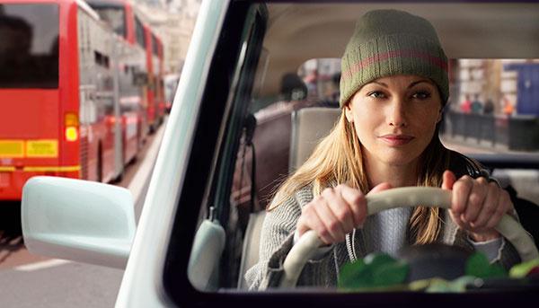 как ездить на машине зимой