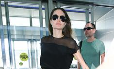 Джоли заменила еду на сигареты и похудела до 38 кг