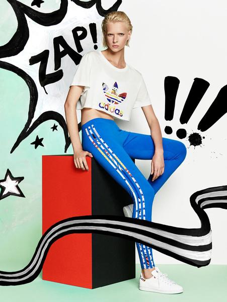 Рита Ора создала новую коллекцию для adidas Originals | галерея [1] фото [4]