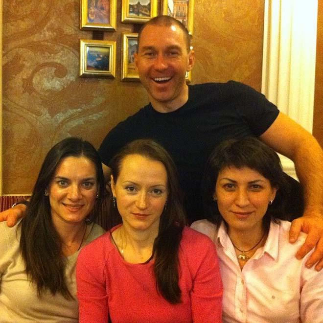 Исинбаева и ее друзья