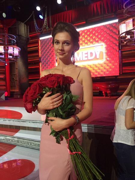 Дарья Канануха на съемках Aqua Comedy в Казани