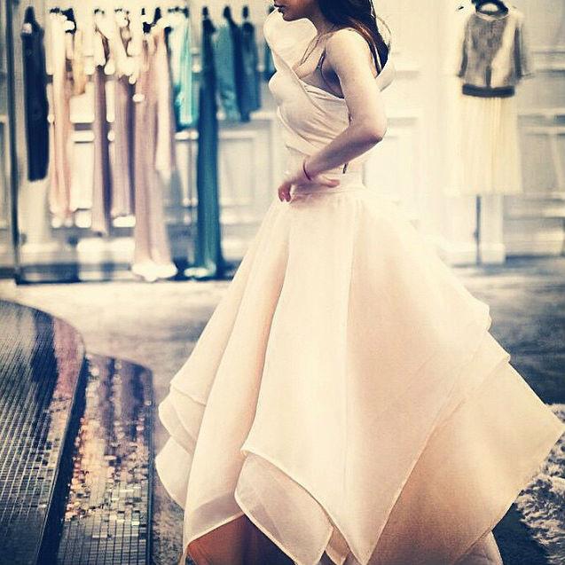 Свадебное платье Виктории Дайнеко: фото