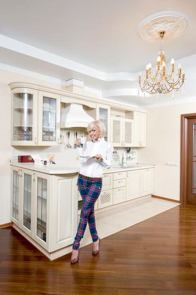 Кухня – любимое место хозяйки. Тут она... колдует.