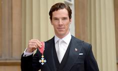 Бенедикт Камбербэтч получил орден Британской империи