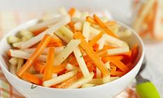 Сочный и полезный салат из моркови и яблок