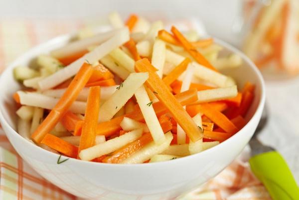 Carroll Wilson салат с яблоком морковью Витаминый service