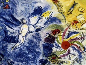 Полотно Марка Шагала