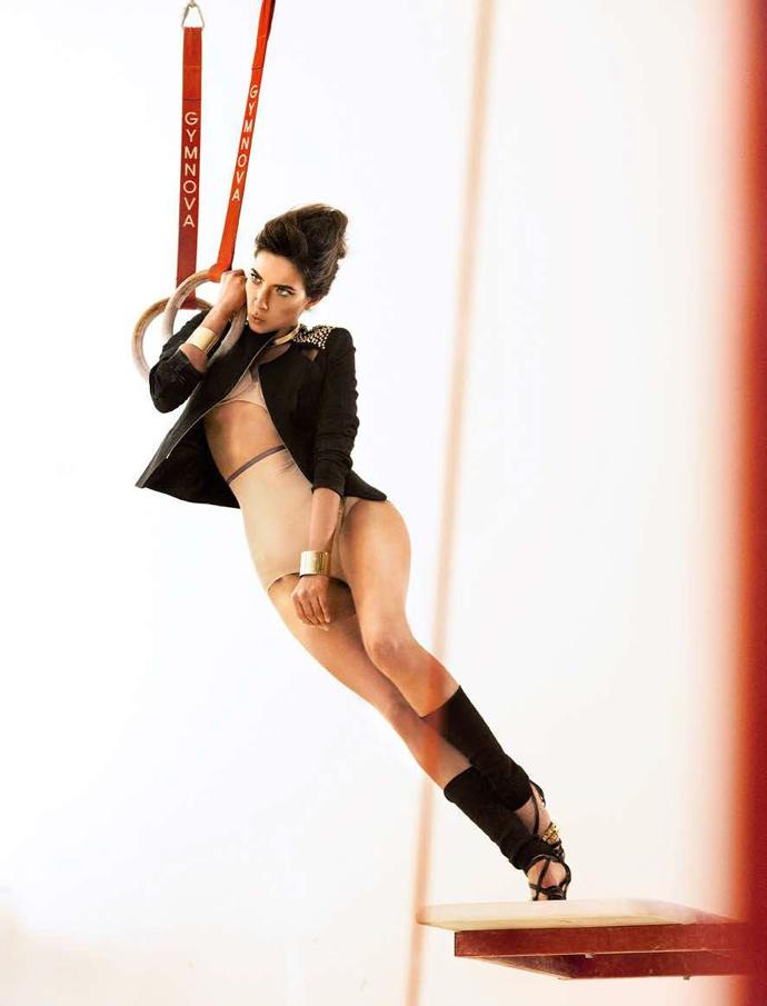 12 упражнений для сексуальной фигуры  Marie Claire