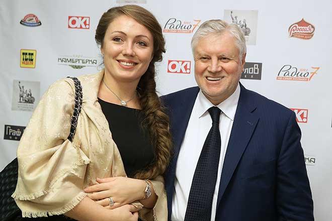 Сергей Миронов и Ольга Радиевская фото