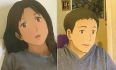 Новый фильтр для соцсетей: посмотри, как ты будешь выглядеть в образе героя аниме