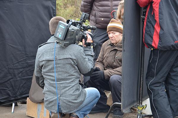 Съемки фильма «Кино про Алексеева»