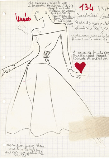 Невеста, набросок, 1988