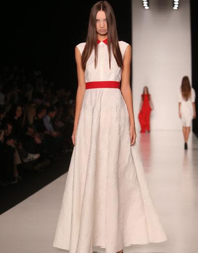 Mercedes-Benz Fashion Week: TEGIN весна-лето 2014