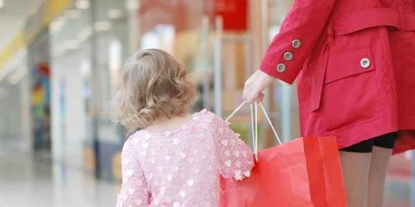 шопинг с детьми, ребенок потерялся в магазине