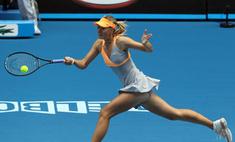 Мария Шарапова одержала победу в первом туре Australian Open