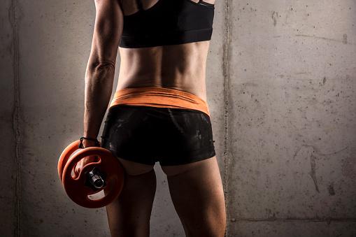 упражнения для похудения ягодиц