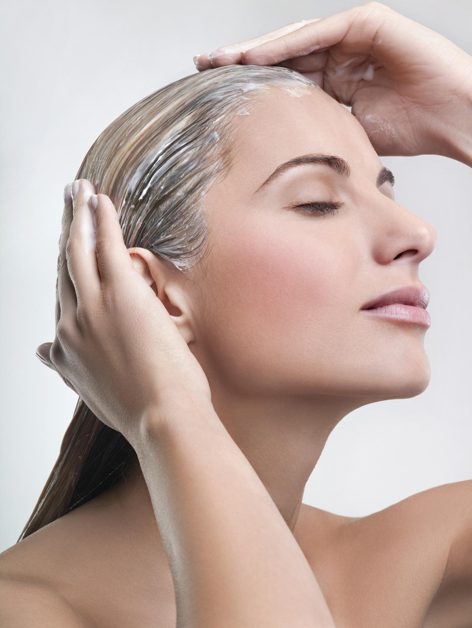Мыть волосы катыком
