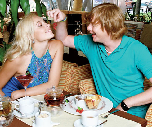 жены звезд, Марина Банкова и Андрей Апполонов-Григорьев
