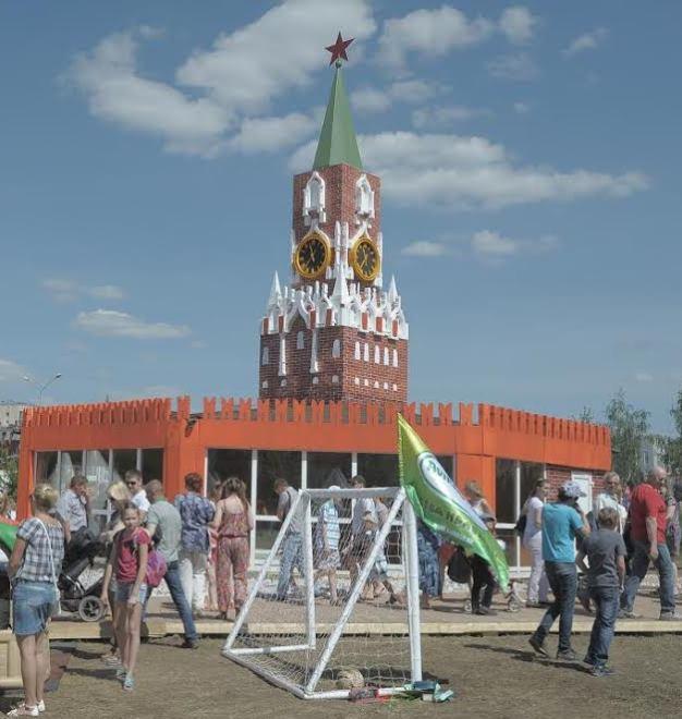 Спасская башня в Перми