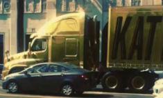 В машину Кэти Перри врезался грузовик