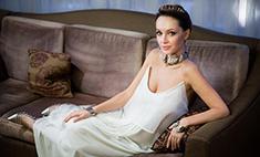 Звездный стиль: свадебное платье жены Грушевского