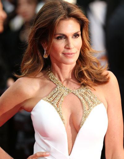 Синди Кроуфорд (Cindy Crawford) на открытии Каннского фестиаля - 2013