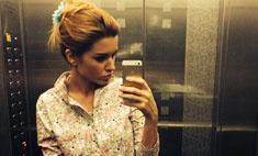 Ксения Бородина ходит на работу в пижаме