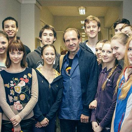 Рэйф Файнс в Петербурге