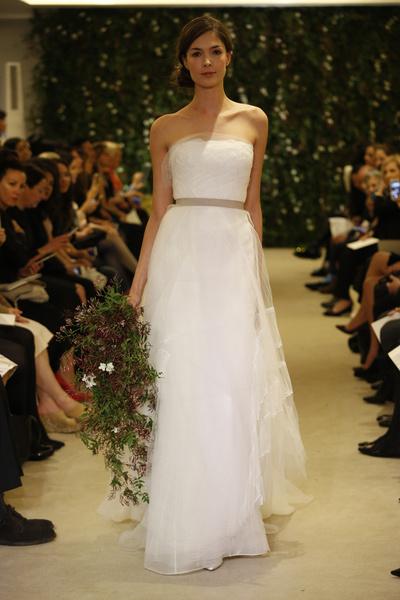 Показ Carolina Herrera на Неделе свадебной моды в Нью-Йорке | галерея [1] фото [2]
