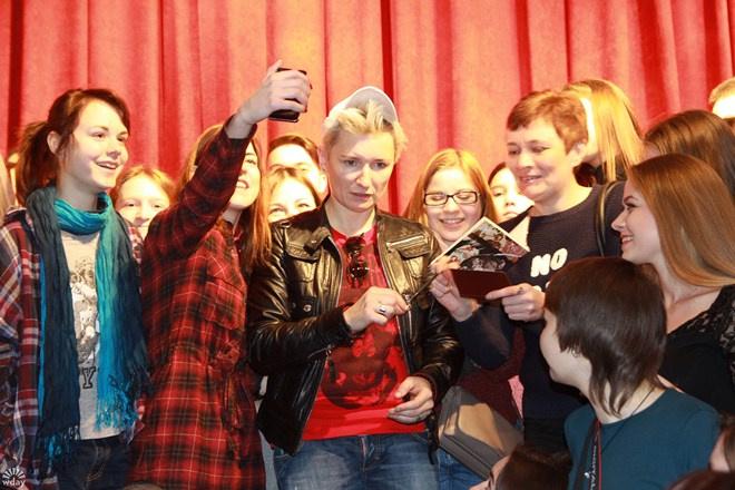Диана Арбенина в Казани на встрече со студентами