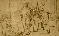 В США похищен рисунок Рембрандта стоимостью $250 тыс.
