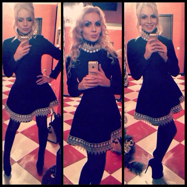 черное платье, Алена Вражевская