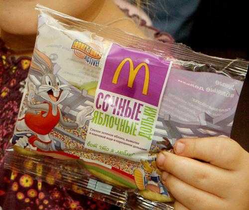Теперь в ресторанах «Макдоналдс» можно купить яблочные дольки.